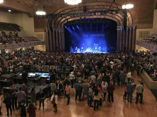 Old Dominion at Memorial Theater