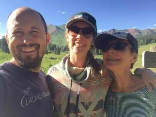 Robin, Justin and Susie