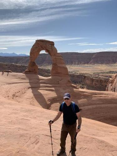 Delicate Arch in Arches National Park 2019